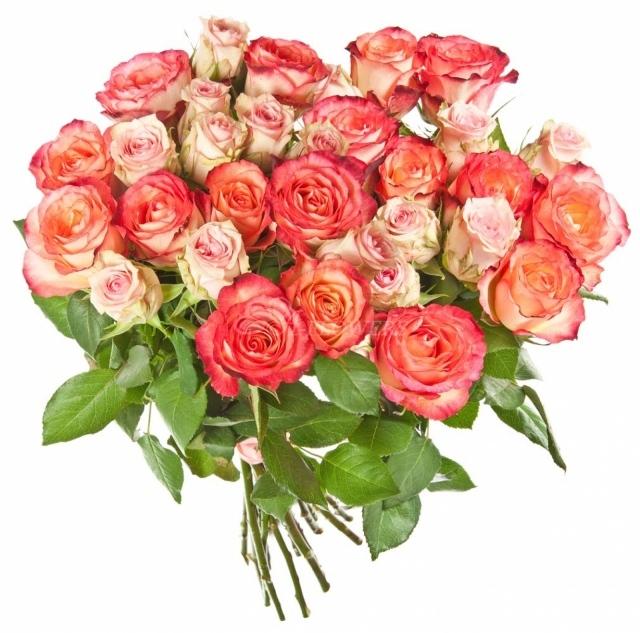 Букет в 30 роз, букет